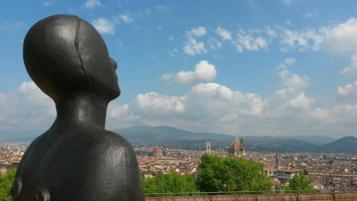 """Human"" di Gormley a Firenze"